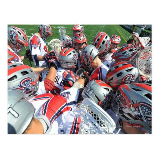 ANNAPOLIS, MD - AUGUST 28:  The Boston Cannons 5 Post Cards