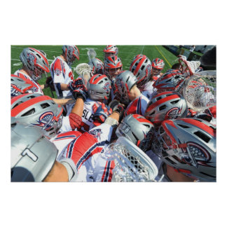 ANNAPOLIS, MD - AUGUST 28:  The Boston Cannons 5 Poster