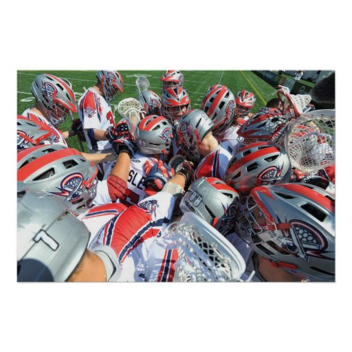ANNAPOLIS, MD - AUGUST 28:  The Boston Cannons 5 Print