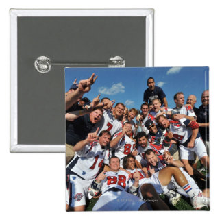 ANNAPOLIS, MD - AUGUST 28:  The Boston Cannons 6 15 Cm Square Badge