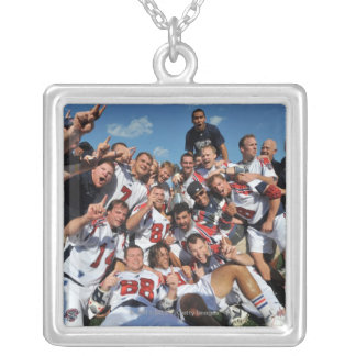 ANNAPOLIS, MD - AUGUST 28:  The Boston Cannons 6 Custom Necklace