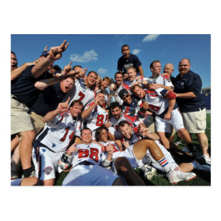 ANNAPOLIS, MD - AUGUST 28:  The Boston Cannons 6 Postcard