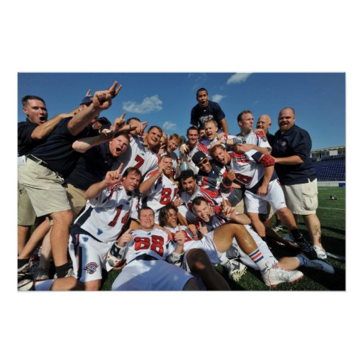 ANNAPOLIS, MD - AUGUST 28:  The Boston Cannons 6 Print