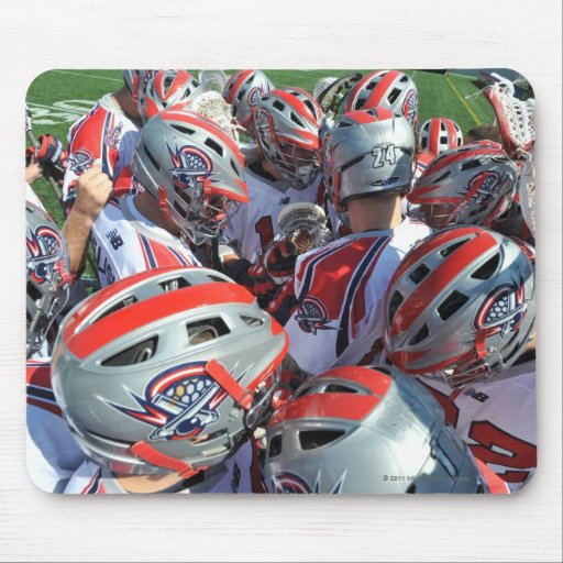 ANNAPOLIS, MD - AUGUST 28:  The Boston Cannons Mouse Pad