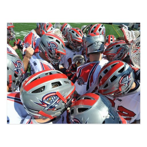 ANNAPOLIS, MD - AUGUST 28:  The Boston Cannons Postcard