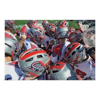 ANNAPOLIS, MD - AUGUST 28:  The Boston Cannons Poster
