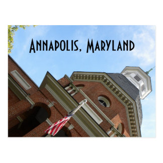 Annapolis, MD courthouse postcard