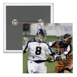 ANNAPOLIS, MD - JULY 02: Brian Carroll #8 2 15 Cm Square Badge
