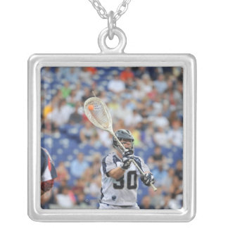ANNAPOLIS, MD - JUNE 25:  Brian Phipps #30 2 Silver Plated Necklace