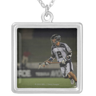 ANNAPOLIS, MD - JUNE 25:  Justin Smith #2 Square Pendant Necklace
