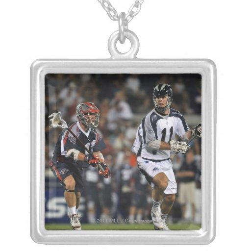 ANNAPOLIS, MD - JUNE 25:  Kyle Dixon #11 3 Necklaces
