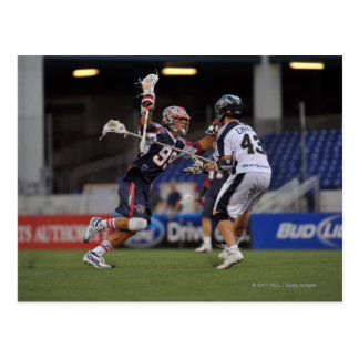 ANNAPOLIS, MD - JUNE 25:  Paul Rabil #99 2 Post Cards