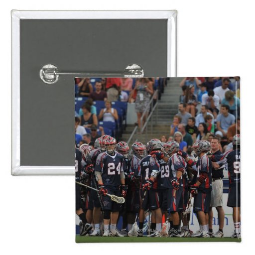 ANNAPOLIS, MD - JUNE 25:  The Boston Cannons Pinback Buttons