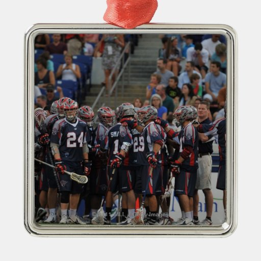 ANNAPOLIS, MD - JUNE 25:  The Boston Cannons Ornaments