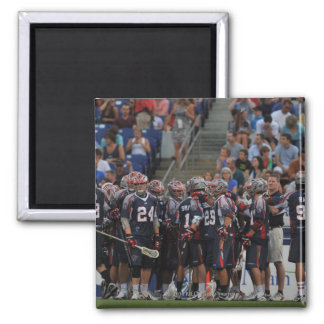 ANNAPOLIS MD - JUNE 25 The Boston Cannons Refrigerator Magnet