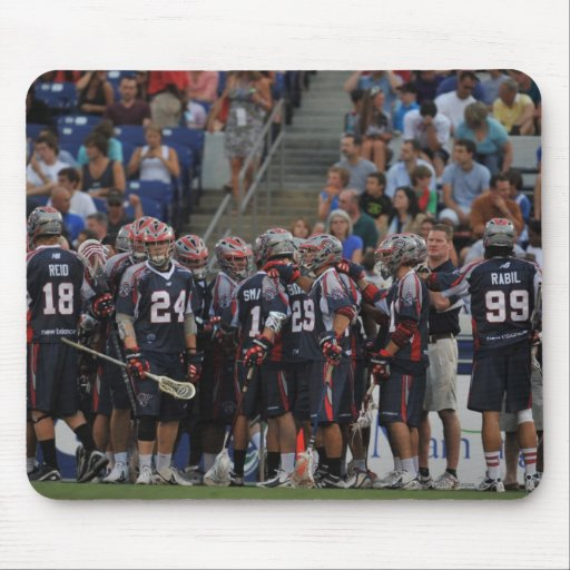 ANNAPOLIS, MD - JUNE 25:  The Boston Cannons Mouse Pads