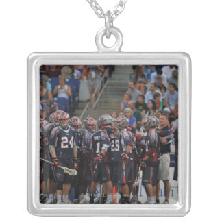 ANNAPOLIS, MD - JUNE 25:  The Boston Cannons Personalized Necklace