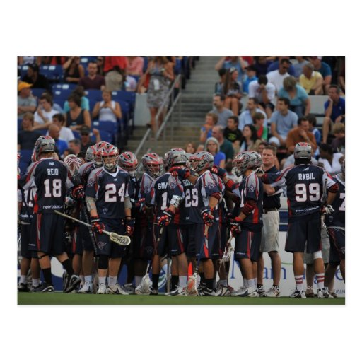 ANNAPOLIS, MD - JUNE 25:  The Boston Cannons Postcards