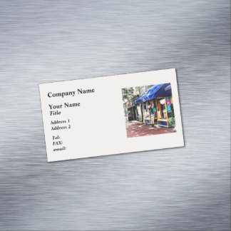 Annapolis MD - Opening For Business Magnetic Business Card