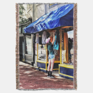 Annapolis MD - Opening For Business Throw Blanket