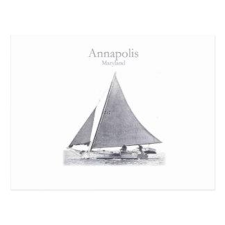 Annapolis Skipjack Postcard