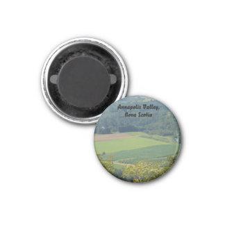 Annapolis Valley, Nova Scotia, fields and farmland Magnet