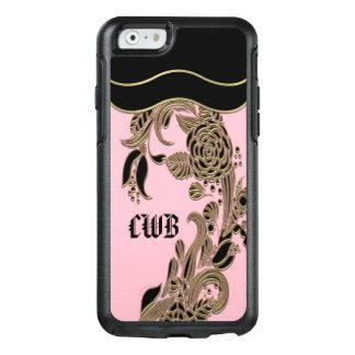 Annarose Elegant  Girly Personalized Monogram OtterBox iPhone 6/6s Case