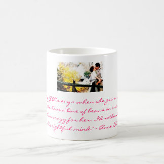 Anne and Gilbert Basic White Mug