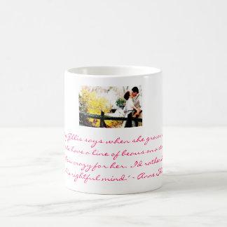 Anne and Gilbert Basic White Mug