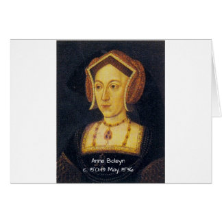 Anne Boleyn Card