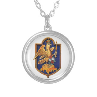 Anne Boleyn Falcon Badge Necklace