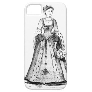 Anne Boleyn Phone Case - Select your phone! Barely There iPhone 5 Case