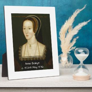 Anne Boleyn Plaque