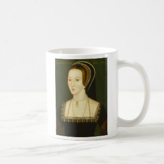 Anne Boleyn Second Wife of Henry VIII Portrait Classic White Coffee Mug