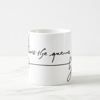 Anne Boleyn Signature Mug