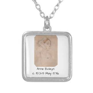 Anne Boleyn Silver Plated Necklace