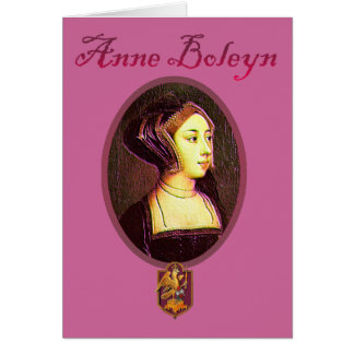 Anne Boleyn - Woman Blank Card