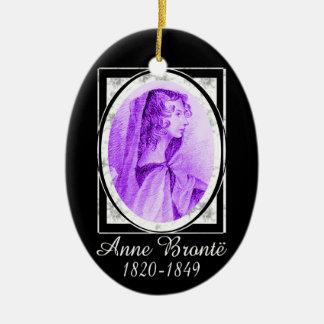 Anne Brontë Ceramic Ornament