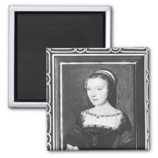 Anne de Pisseleu  Duchess of Etampes, c.1448 Square Magnet