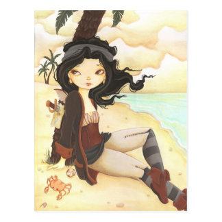 Anne - fairy pirate fantasy post card