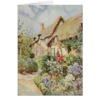 Anne Hathaway s Cottage II Stratford-upon-Avon Card