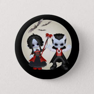 Anne-Marie And dominic Little Gothics 6 Cm Round Badge