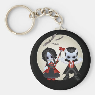 Anne-Marie And dominic Little Gothics Key Ring