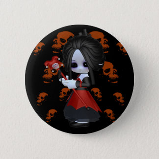 Anne-Marie Little Gothic 6 Cm Round Badge