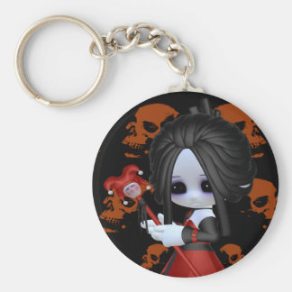 Anne-Marie Little Gothic Key Ring