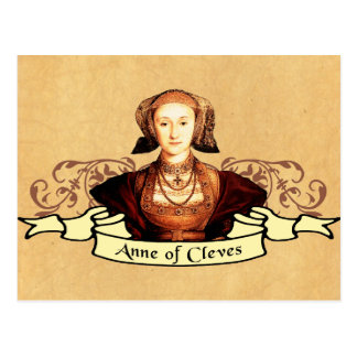 Anne of Cleves Classic Postcard
