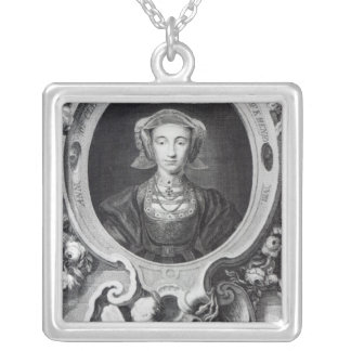 Anne of Cleves Square Pendant Necklace