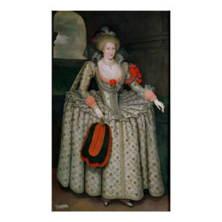Anne of Denmark, c.1605-10 Poster