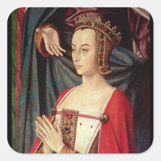 Anne of France Square Sticker