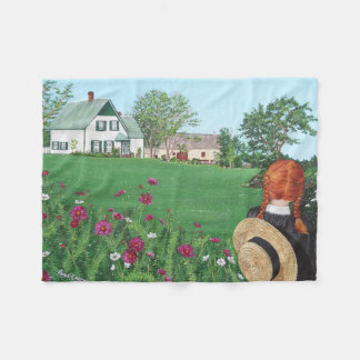 Anne of Green Gables Fleece Blanket, Small